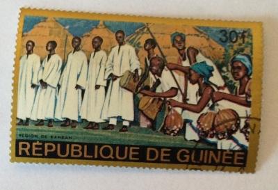 Почтовая марка Республика Гвинея (Rebulique de Guinee) Kankan Region | Год выпуска 1968 | Код каталога Михеля (Michel) GN 476-2