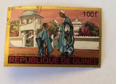 Почтовая марка Республика Гвинея (Rebulique de Guinee) Labé - Moyenne Guinea   Год выпуска 1968   Код каталога Михеля (Michel) GN 478-2