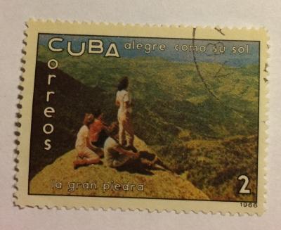 Почтовая марка Куба (Cuba correos) La Gran Piedra | Год выпуска 1966 | Код каталога Михеля (Michel) CU 1137