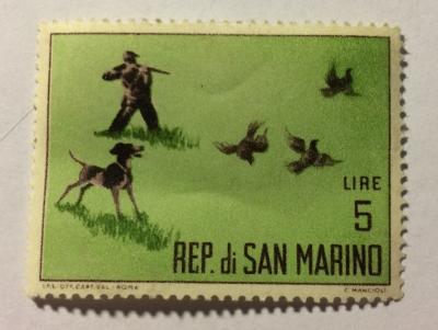 Почтовая марка Сан-Марино (Rep San Marino) Jacht | Год выпуска 1962 | Код каталога Михеля (Michel) SM 743-2