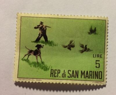 Почтовая марка Сан-Марино (Rep San Marino) Jacht | Год выпуска 1962 | Код каталога Михеля (Michel) SM 743-3