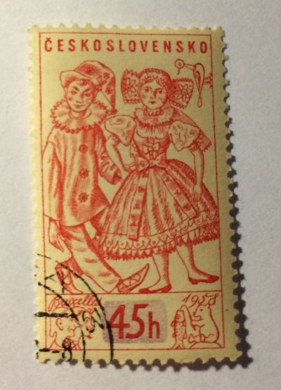 Почтовая марка Чехословакия (Ceskoslovensko ) Toys | Год выпуска 1958 | Код каталога Михеля (Michel) CS 1069