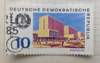 Почтовая марка ГДР (DDR) Magdeburg   Год выпуска 1969   Код каталога Михеля (Michel) DD 1500
