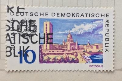 Почтовая марка ГДР (DDR) Potsdam | Год выпуска 1969 | Код каталога Михеля (Michel) DD 1497