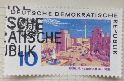 Почтовая марка ГДР (DDR) Berlin, Capital of the GDR | Год выпуска 1969 | Код каталога Михеля (Michel) DD 1506