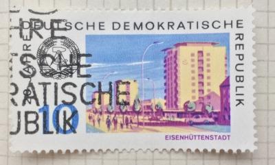 Почтовая марка ГДР (DDR) Eisenhüttenstadt   Год выпуска 1969   Код каталога Михеля (Michel) DD 1498