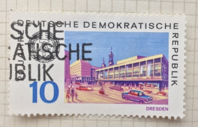 Почтовая марка ГДР (DDR) Dresden | Год выпуска 1969 | Код каталога Михеля (Michel) DD 1503