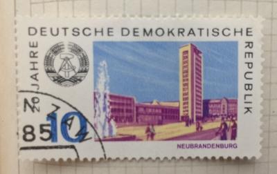 Почтовая марка ГДР (DDR) Neubrandenburg | Год выпуска 1969 | Код каталога Михеля (Michel) DD 1496
