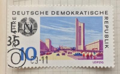 Почтовая марка ГДР (DDR) Leipzig | Год выпуска 1969 | Код каталога Михеля (Michel) DD 1504