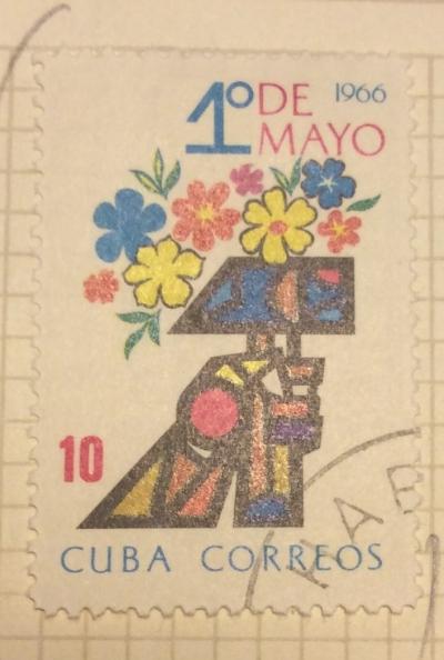 Почтовая марка Куба (Cuba correos) Hammer   Год выпуска 1966   Код каталога Михеля (Michel) CU 1169