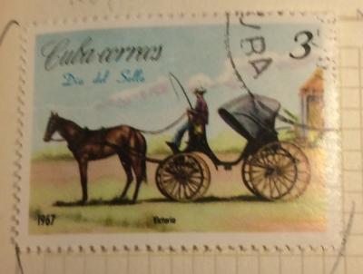 Почтовая марка Куба (Cuba correos) Carriages-Volante | Год выпуска 1967 | Код каталога Михеля (Michel) CU 1287