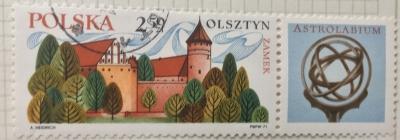 Почтовая марка Польша (Polska) Astrolabium | Год выпуска 1971 | Код каталога Михеля (Michel) PL 2090
