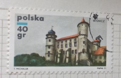 Почтовая марка Польша (Polska) Wisnicz | Год выпуска 1971 | Код каталога Михеля (Michel) PL 2059