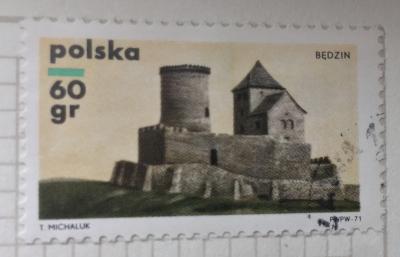 Почтовая марка Польша (Polska) Bedzin | Год выпуска 1971 | Код каталога Михеля (Michel) PL 2060
