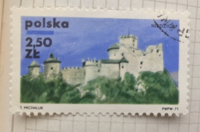 Почтовая марка Польша (Polska) Niedzica | Год выпуска 1971 | Код каталога Михеля (Michel) PL 2062