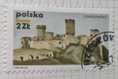 Почтовая марка Польша (Polska) Ogrodzieniec | Год выпуска 1971 | Код каталога Михеля (Michel) PL 2061