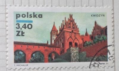 Почтовая марка Польша (Polska) Kwidzyn | Год выпуска 1971 | Код каталога Михеля (Michel) PL 2063
