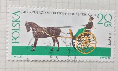 Почтовая марка Польша (Polska) Gig   Год выпуска 1965   Код каталога Михеля (Michel) PL 1644