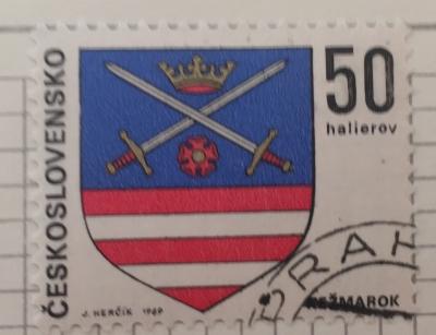 Почтовая марка Чехословакия (Ceskoslovensko ) Kežmarok   Год выпуска 1969   Код каталога Михеля (Michel) CS 1906