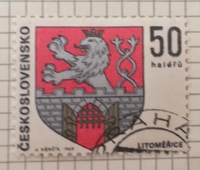 Почтовая марка Чехословакия (Ceskoslovensko ) Litoměřice | Год выпуска 1969 | Код каталога Михеля (Michel) CS 1908