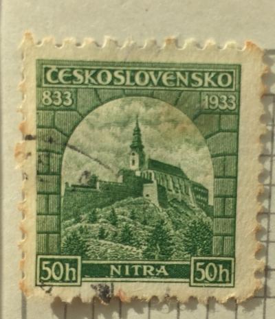 Почтовая марка Чехословакия (Ceskoslovensko ) Nitra   Год выпуска 1933   Код каталога Михеля (Michel) CS 319