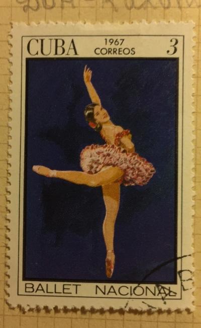 Почтовая марка Куба (Cuba correos) Don Quixote   Год выпуска 1967   Код каталога Михеля (Michel) CU 1304