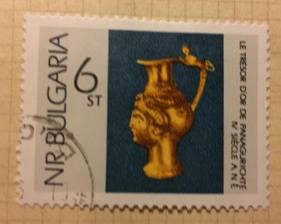 Почтовая марка Болгария (НР България) Pitcher | Год выпуска 1966 | Код каталога Михеля (Michel) BG 1666