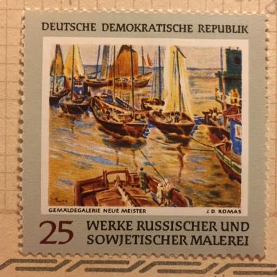 Почтовая марка ГДР (DDR) J. D. Romas | Год выпуска 1968 | Код каталога Михеля (Michel) DD 1531