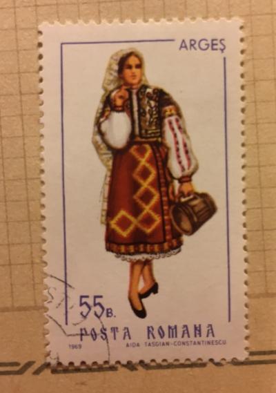 Почтовая марка Румыния (Posta Romana) Arges | Год выпуска 1969 | Код каталога Михеля (Michel) RO 2741