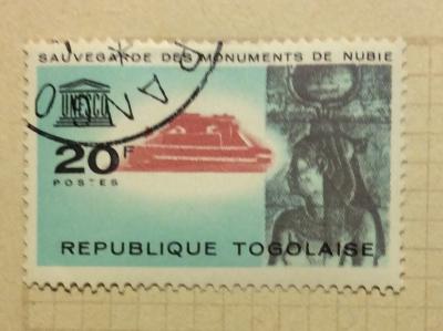 Почтовая марка Того (Republique Togo) Isis of Kalabsha | Год выпуска 1964 | Код каталога Михеля (Michel) TG 419