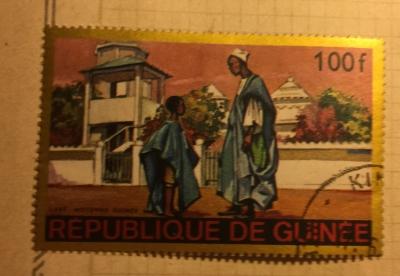 Почтовая марка Республика Гвинея (Rebulique de Guinee) Labé - Moyenne Guinea   Год выпуска 1968   Код каталога Михеля (Michel) GN 478