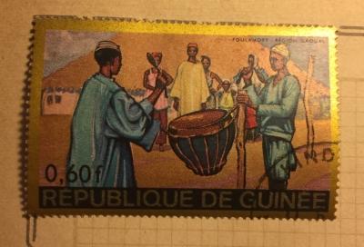 Почтовая марка Республика Гвинея (Rebulique de Guinee) Foulamory - Gaoual Region | Год выпуска 1968 | Код каталога Михеля (Michel) GN 472