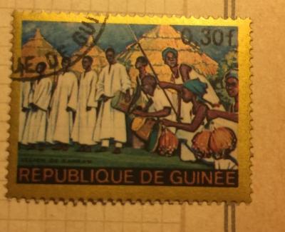 Почтовая марка Республика Гвинея (Rebulique de Guinee) Kankan Region | Год выпуска 1968 | Код каталога Михеля (Michel) GN 469