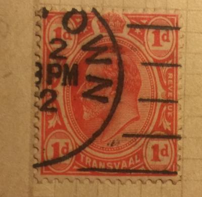 Почтовая марка ЮАР (Transvaal) King Edward VII | Год выпуска 1905 | Код каталога Михеля (Michel) ZA-TV 132