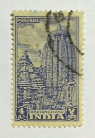 Почтовая марка Индия (India postage) Bhuvanesvara | Год выпуска 1951 | Код каталога Михеля (Michel) IN 217