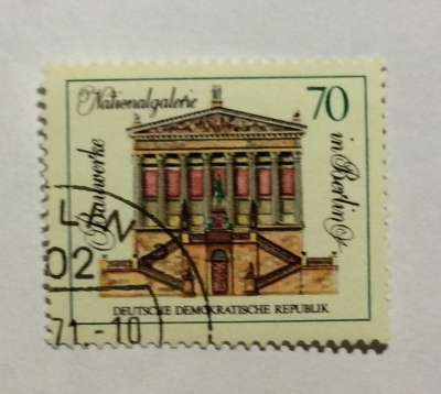 Почтовая марка ГДР (DDR) National gallery | Год выпуска 1971 | Код каталога Михеля (Michel) DD 1666