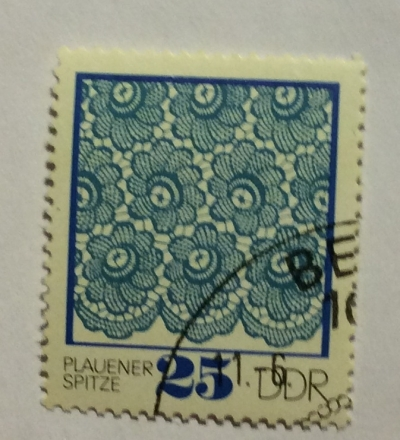 Почтовая марка ГДР (DDR) Plauener point   Год выпуска 1974   Код каталога Михеля (Michel) DD 1965