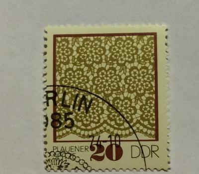 Почтовая марка ГДР (DDR) Plauener point | Год выпуска 1974 | Код каталога Михеля (Michel) DD 1964