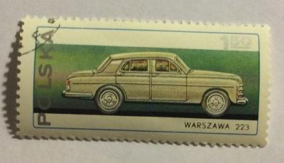 Почтовая марка Польша (Polska) Warszawa 223   Год выпуска 1976   Код каталога Михеля (Michel) PL 2468
