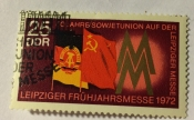 Flags of the GDR and USSR