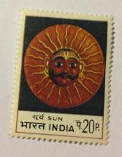 Sun (indian mask)