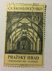 Interior of Hall of King Vladislav