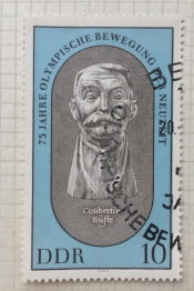 Coubertin bust