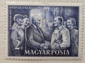 Mátyás Rákosi meeting workers