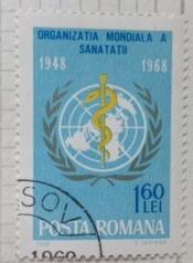 Badge of O.M.S./W.H.O.