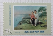 Kim Il Sung receives teaching from his father