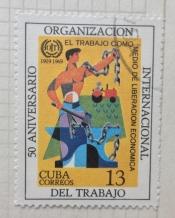 50Th Ann. of the International Labour Organization