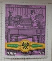 "Packing of cigars in the 19th century, ""Gran Peña"" - cigar b"