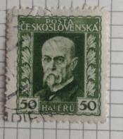 Tomáš Garrigue Masaryk (1850-1937), president