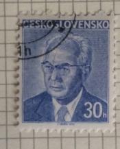 Gustav Husák (1913-1991), president